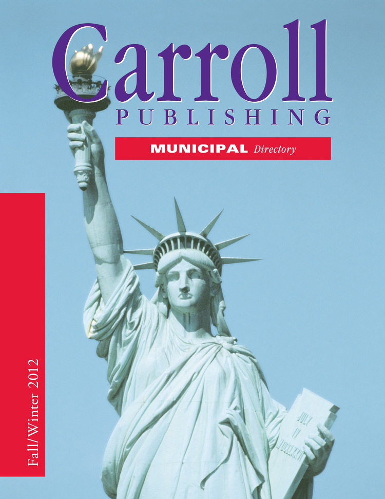 The Municipal Directory: Fall/Winter 2012 - 1944358720122