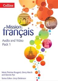 Mission: Français 1 Audio Video Pack - 9780007536504