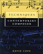 Techniques of the Contemporary Composer - 9780028647371(Print)