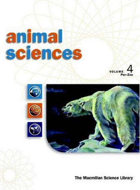 Animal Sciences: Macmillan Science Library - 9780028658858