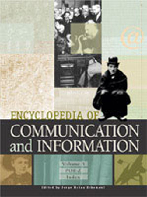 Encyclopedia of Communication and Information - 9780028658872