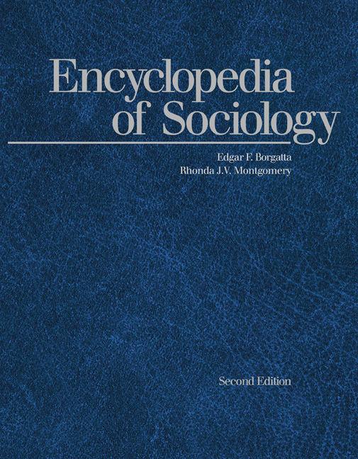 Encyclopedia of Sociology - 9780028658995