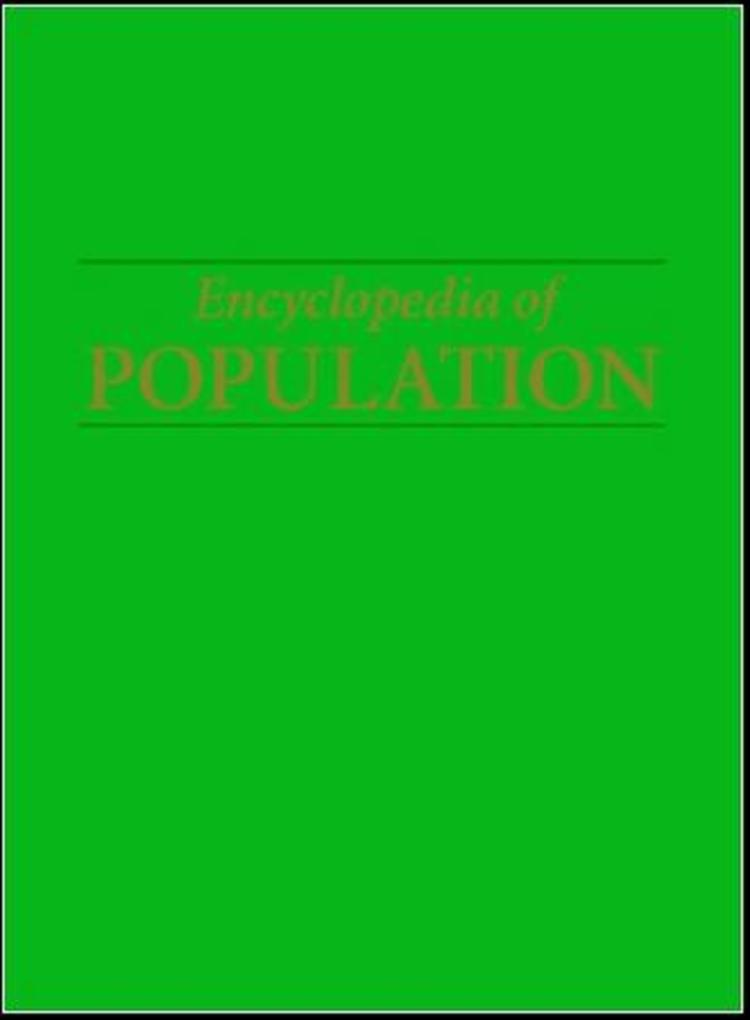 Encyclopedia of Population - 9780028659176