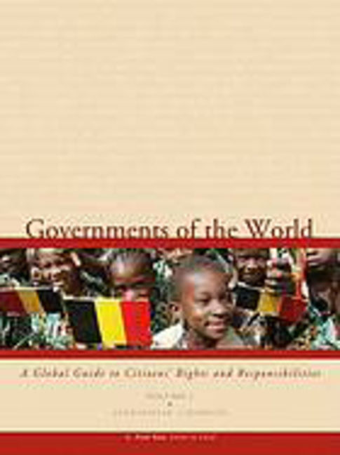 Governments of the World: A Global Guide to Citizens' Rights and Responsibilities - 9780028660738