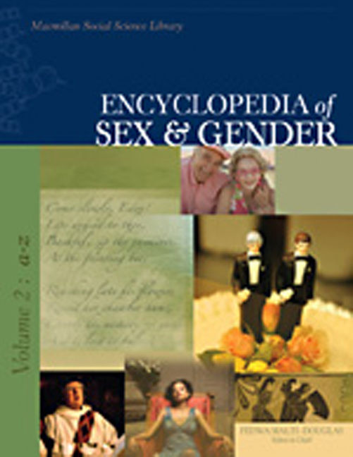 Encyclopedia of Sex & Gender - 9780028661155