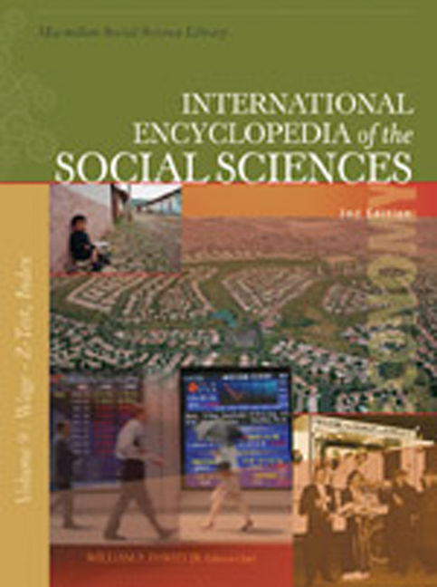 International Encyclopedia of the Social Sciences - 9780028661179
