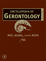 Encyclopedia of Gerontology - 9780080547862