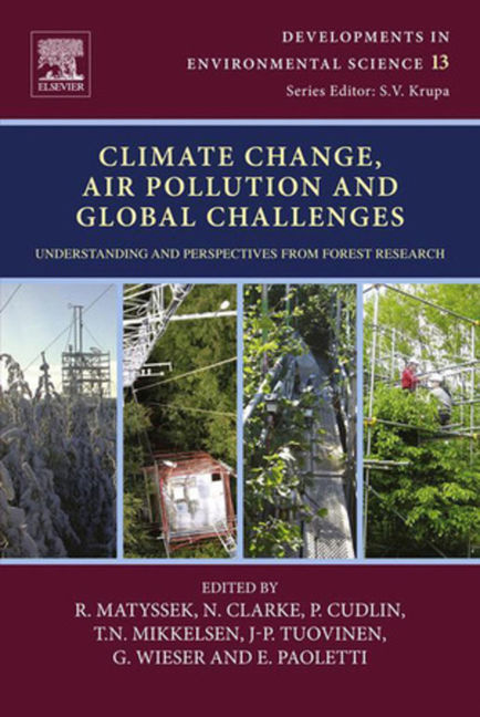 Climate Change, Air Pollution and Global Challenges - 9780080983424
