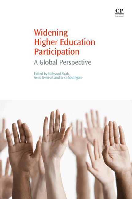 Widening Higher Education Participation: A Global Perspective - 9780081002469