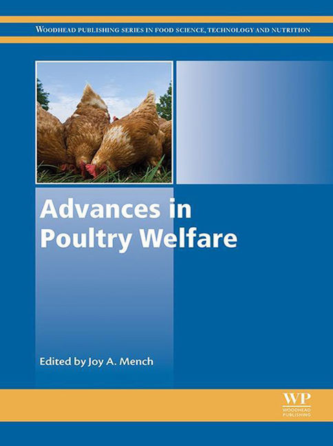 Advances in Poultry Welfare - 9780081009307
