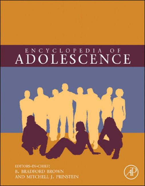 Encyclopedia of Adolescence - 9780123739513