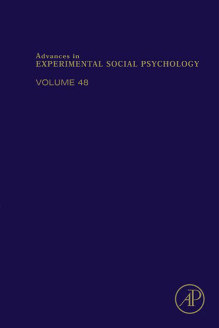 Advances in Experimental Social Psychology - 9780124072060