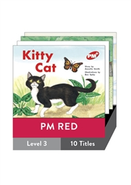 PM Plus Story Books Red Level 3 Pack (10 titles) - 9780170095716