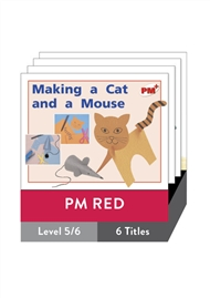 PM Plus Non-Fiction Red: Play Pack (6 titles) - 9780170095990
