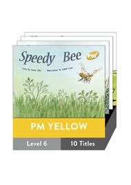 PM Plus Story Books Yellow Level 6 Pack (10 titles) - 9780170096126