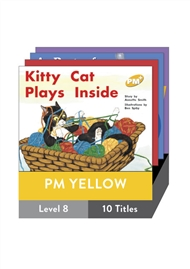 PM Plus Story Books Yellow Level 8 Pack (10 titles) - 9780170096348