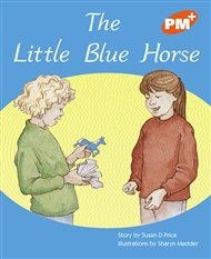 The Little Blue Horse - 9780170097277