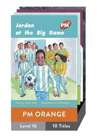 PM Plus Story Books Orange Level 16 Pack (10 titles) - 9780170097352