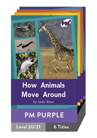 PM Plus Non-Fiction Purple: Movement and Change Pack (6 titles) - 9780170097925