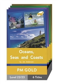 PM Plus Non-Fiction Gold: Our Environment Pack (6 titles) - 9780170097994