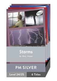 PM Plus Non-Fiction Silver: Natural Forces Pack (6 titles) - 9780170098625