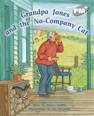 Grandpa Jones and the No-company Cat - 9780170098762