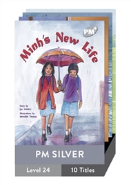 PM Plus Story Books Silver Level 24 Pack (10 titles) - 9780170098809