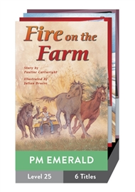 PM Plus Story Books Emerald Level 25 Pack (6 titles) - 9780170098946