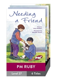 PM Plus Story Books Ruby Level 27 Set A Pack (6 titles) - 9780170099189