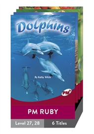 PM Plus Non-Fiction Ruby: Focus on Change Pack (6 titles) - 9780170099325