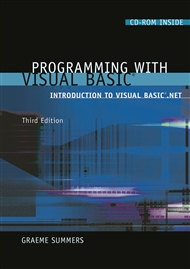 Programming with Visual Basic: Introduction to Visual Basic.Net - 9780170104104