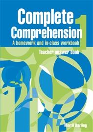 Complete Comprehension 1 Teacher Answer Book - 9780170111249