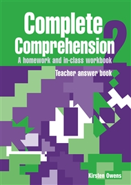Complete Comprehension 2 Teacher Answer Book - 9780170111263