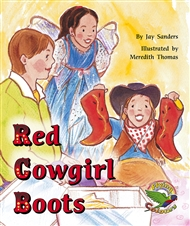 Red Cowgirl Boots - 9780170112901