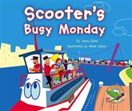 Scooter's Busy Monday - 9780170113120