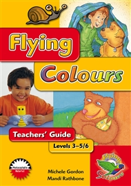 Flying Colours Red Levels 3-5/6 Teachers' Guide - 9780170113335