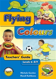 Flying Colours Yellow Levels 6-8/9 Teachers' Guide - 9780170113342