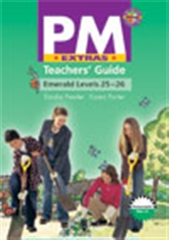 PM Extras Emerald Level 25-26 Teacher's Guide - 9780170114714