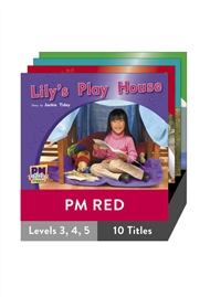 PM Photo Stories Red Level 3-5 Pack (10 titles) - 9780170123082