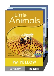PM Science Facts Yellow Level 6-8 Pack (10 titles) - 9780170123938