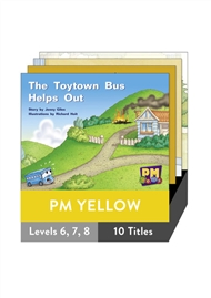 PM Gems Yellow Level 6-8 Pack (10 titles) - 9780170124379