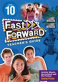 Fast Forward Blue Level 10 Teacher's Guide - 9780170125482