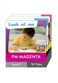 PM Starters Magenta Level 2 Pack (10 titles) - 9780170133227