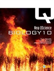 New QScience Biology 10 Student Book with CD-ROM - 9780170135313
