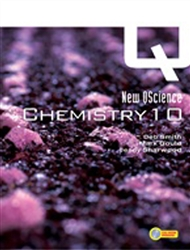 New QScience Chemistry 10 Student Book with CD-ROM - 9780170135320