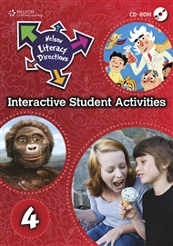 Nelson Literacy Directions 4 Student Interactive Activities CD - 9780170184489