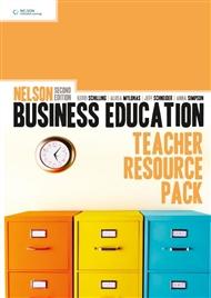 Nelson Business Education Teacher Resource Pack - 9780170185660