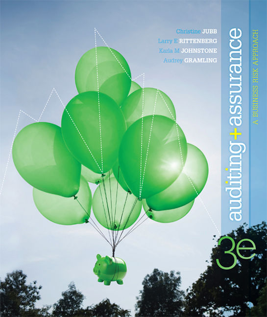 Auditing + Assurance: A Business Risk Approach - 9780170188524(Print)