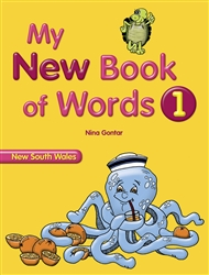 My New Book of Words NSW 1 - 9780170188586