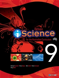 Nelson iScience for the Australian Curriculum Year 9 (Student Book with 4 Access Codes) - 9780170189262